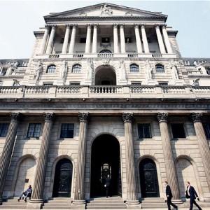 La Banca d'Inghilterra... In piena Europa