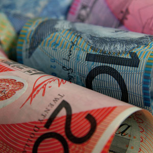 Dollaro australiano, segnali